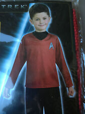 New Star Trek Movie Red Scotty Costume Shirt Pants Boys Medium 8 10  RUBIES