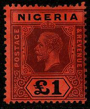 Nigeria  1914-27   Scott #12    Mint Lightly Hinged