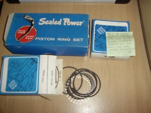 NOS PISTON RING SET Std. SUIT BMC B SERIES 1500 AUSTIN A50, WOLSELEY 1500 OTHERS