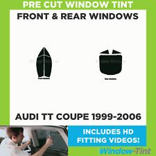 Pre Cut Window Tint - Audi TT Coupe 1999-2006 - Full Kit