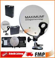 MAXIMUM Camping Sat Koffer Schüssel Anlage Camping Sat Bakon Mobil Digital Neu