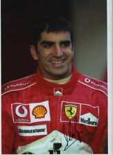 Marc Gene Ferrari F1 Test Driver Retrato Firmado fotografía 1