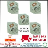 FITS NUMATIC HENRY HETTY VACUUM CLEANER HOOVER GREEN DUST BAGS 50 PACK