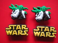 Clog Charm Plugs For Bracelets Belts Accessories 4 Starwars Yoda