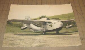 """1947 REPUBLIC RC-3 SEEBEE Airplane 11.5"""" x 9"""" Amateur Color Photograph"""