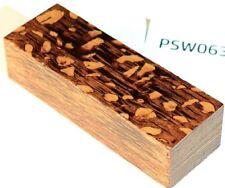 Perlholz Griffblock braun stabilisiert | 120x40x30| puq stabwood | lacewood 6311