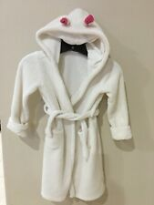 Baby Gap Bunny Rabbit Hooded Robe Boy Girl Unisex size 5 years