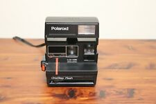 Vintage Polaroid 600 One Step Flash Instant Camera Not Tested
