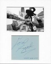 Official Monster Raving Loony Party Screaming Lord Sutch Genuine Hand Signed COA