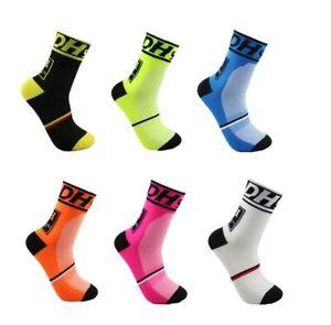 Cycling Socks Pack mens womens Pink Black White Road Breathable Pair Sport Socks