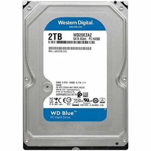 "NEW Western Digital Blue 2TB HDD 3.5"" 5400 RPM SATA 6GB/s 256MB Cache - WD20EZAZ"