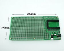Double Side Prototype PCB Breadboard DIY 100x200mm 4.096V for Mega mini 2560