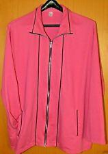 Jacke Pink 2 Seitentaschen Gr 48 Baumwolle