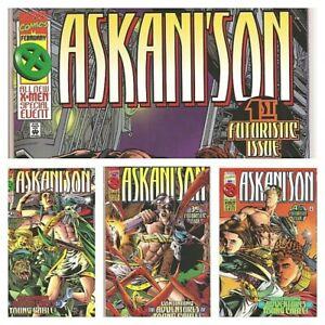 °ASKANI' SON #1 bis 4 von 4°US Marvel 1996 Nathan Dayspring Arkani´son aka CABLE