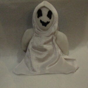 """Ty Beanie Baby """"Sheets"""" Ghost Toy Plush Stuffed Animal NO Heart Tag"""