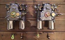 (2x) 45 Dcoe Double Carburateur avec rodage entonnoir BMW FIAT ALFA romeo LANCIA weber