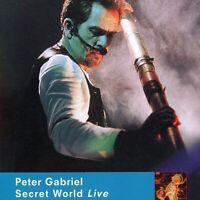 "PETER GABRIEL ""SECRET WORLD LIVE"" 1994 LIMITED EDITION 2-DISC REMASTER PROMO CD"