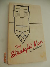 The Straight Man by Kent Nelson vintage pb great cover art 1978 Black Lizard 1st