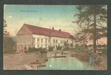German WWI Feldpostkarte Postcard Mohle St. Souplet German Soldiers On Canoe