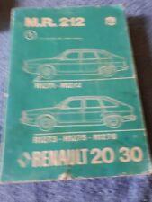 1979 1985 renault r18 fuego service repair workshop manual download