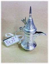boite dragée argenté en forme de cafetière x12 Pcs