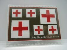 Dinky 624 Military Ambulance stickers