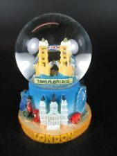 London Snow Ball Tower Bridge Snow Globe 7cm, Souvenir Great Britain