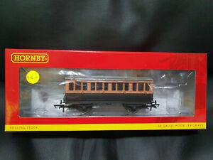 Hornby R40061 L&SWR 4 Wheel 1st Class Coach No.123 BNIB