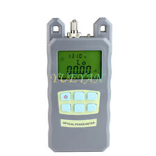 Ftth Fiber Optic Optical Power Meter Cable Tester 703 Dbm Fcsc Connector