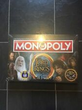 MONOPOLY LORD OF THE RINGS TRILOGY EDITION BOARD GAME & FREE TOP TRUMPS CARD NEW