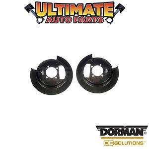 Dorman: 924-209 - Left and Right Rear - Brake Dust Shield / Backing Plate