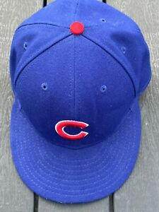 CHICAGO CUBS - OFFICIAL ON-FIELD CAP - NEW ERA 59FIFTY - 75/8 60.6 CM - VGC