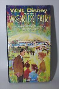 Walt Disney and the 1964 World's Fair 5 Audio CD Set Sealed Never Opened Mint
