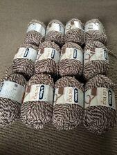 Patons Lite Inca 12x50g 8ply Brown Tones #SundayMarket