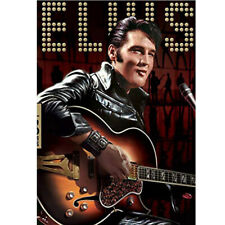 Character 5D Diamond Painting Kits Elvis Presley Guitar Embroidery Mural Decor