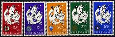 Suriname 1966 SG#589-593 pâques charity cto utilisé set #D34410