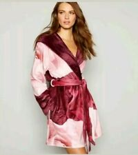 c7611891dc5 B By Ted Baker Wine red floral print  Porcelain dressing gown   Robe. 12