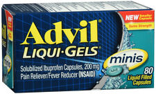 Advil Liqui-Gels 200 mg Minis Pain Reliever / Fever Reducer 80 Liquid Capsules