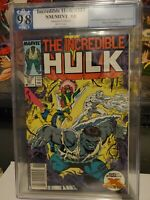 INCREDIBLE HULK 337 PGX 9.8 WHITE PAGES TODD McFARLANE art X-FACTOR appearance