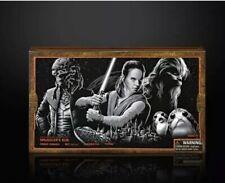 "Star Wars Disneyland Galaxy's Edge Black Series Smuggler's Run 6"" Exclusive Set"