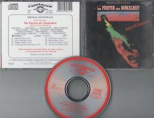 John Carpenter  CD-SOUNDTRACK DIE FÜRSTEN DER DUNKELHEIT © 1987  TOP