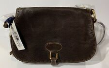 Dooney & Bourke Full Flap Saddle Bag Handbag Purse Crossbody New $328.00