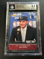 LUKA DONCIC 2018 PANINI NBA DRAFT NIGHT DN3 ROOKIE /811 RC BGS 9.5 MAVERICKS (C)