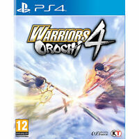 Warriors Orochi 4 PS4 PLAYSTATION New and Sealed
