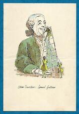 "1955 ORIENT LINE S.S ORCADES DINNER MENU ""LEMUEL GULLIVER"" by LYNTON LAMB"