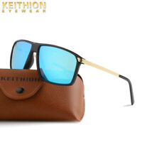 KEITHION Polarized Mens Sunglasses Sports Square Eyewear Driving Glasses UV400
