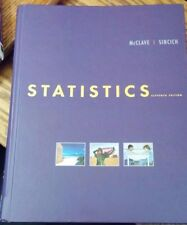 """Statistics by James T. McClave and Terry Sincich """"Eleventh edition"""""""