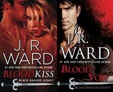 JR Ward BLACK DAGGER LEGACY Series Paperback Collection Set of Books 1-2