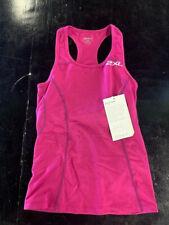 2XU Women's Active Triathlon Singlet- Pink- Multiple Sizes