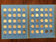 Complete 48pc Silver Roosevelt Dime Collection - 1946-1964 P/D/S w/ album